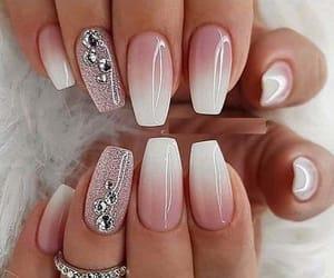 nails, beautiful, and girl image