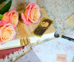aesthetic, floral, and rose image
