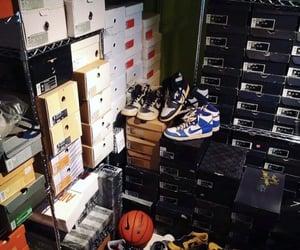 Basketball, shoes, and closet image