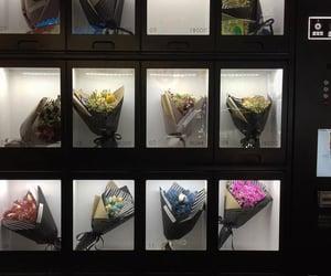 flowers, aesthetic, and dark image
