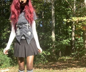 emo, mall goth, and alt black women image