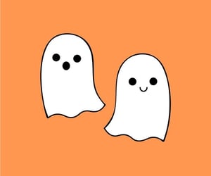 android, ghosts, and Halloween image