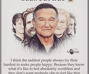 robin williams, sad but true, and the saddest people image