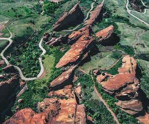aerial photography, colorado, and usa image