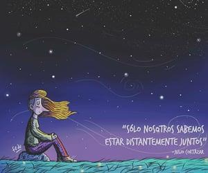 amor, distancia, and frases español image