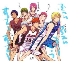anime, Basketball, and knb image