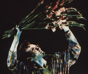 morrissey, the smiths, and flowers image