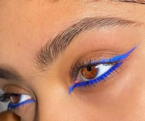 style, makeup, and eyes image
