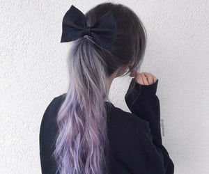 colored hair, hairstyles, and saclar image