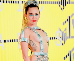 edit, miley cyrus, and vibrant image
