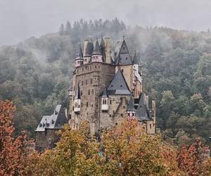 autumn, castle, and explore image