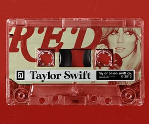 Taylor Swift, my favourite albums, and era: red image