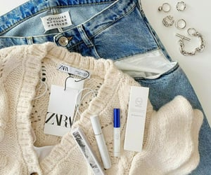 accessories, casual, and blue image