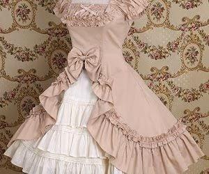 80s, beautiful, and dress image