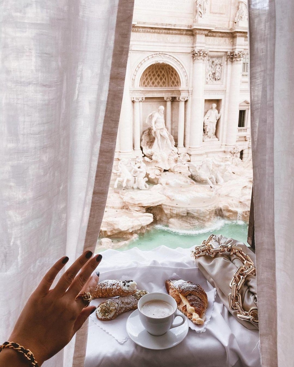 fashion, glam, and rome image