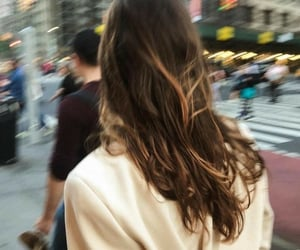 blurry, girls, and hair inspo image