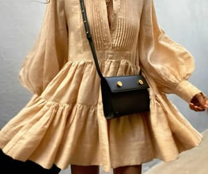blogger, dress, and fall fashion image