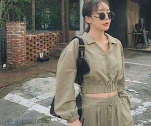 kfashion, korean fashion, and style image