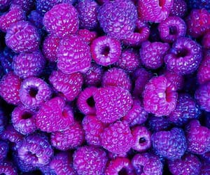 food, raspberry, and wallpaper image