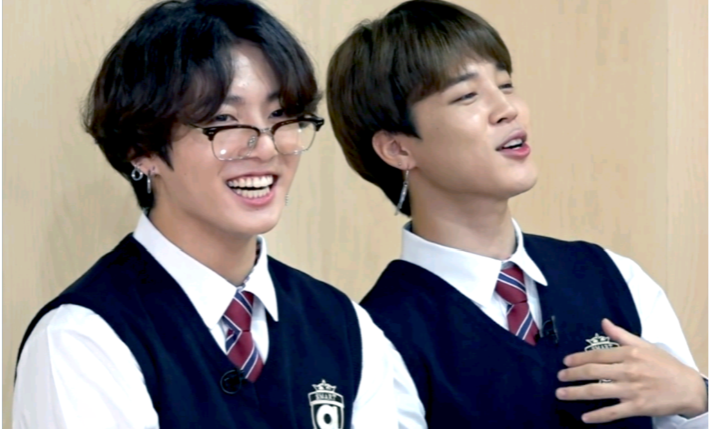 jk, jungkook, and jikook image