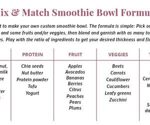 smoothie bowl image