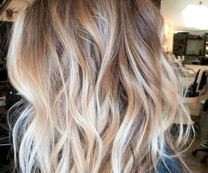 bun, hair, and blonde image