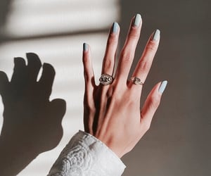 nails, hands, and jewelry image