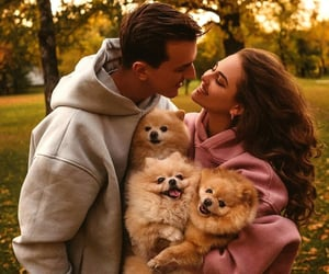animals, couples, and love image