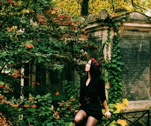 autumn, witch, and pere lachaise image