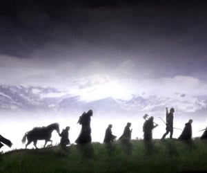 LOTR, lord of the rings, and gandalf image