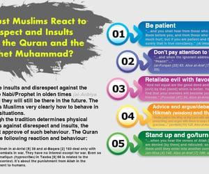 muhammad, quran, and react image
