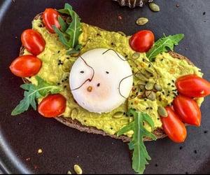 avocado, breakfast, and dinner image
