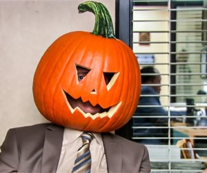 Halloween, funny, and the office image