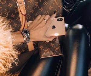 fashion, Louis Vuitton, and iphone image