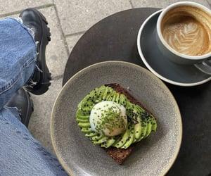 avocado, breakfast, and foody image
