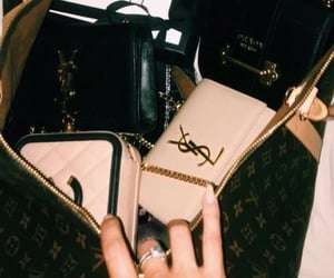 bags, girls, and lux image