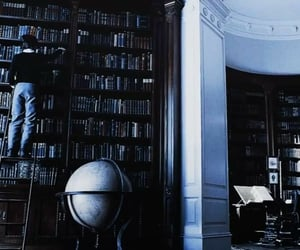 books, library, and boy image