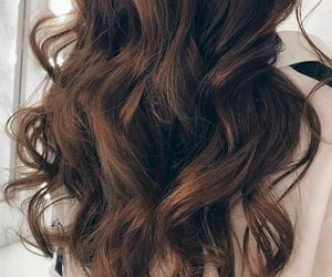 hairstyles, brown curls, and brown image