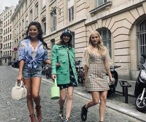 fashion, france, and girls image