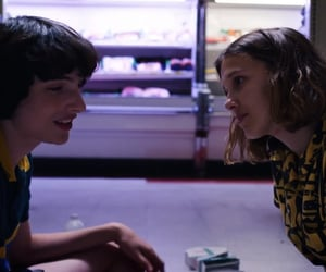 stranger things, mileven, and el image