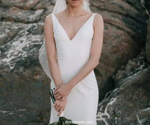 mermaid wedding dresses, wedding dresses, and fashion wedding dresses image