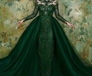 vestido de festa, robe de soirée, and green prom dresses image