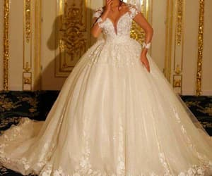 vestido de noiva, robe de mariée, and princess wedding dress image