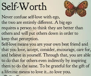 accept, care, and self love image