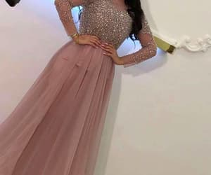 beaded prom dresses, a line prom dresses, and long sleeve prom dresses image