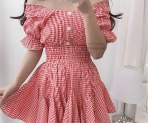 dress, fancy, and kfashion image