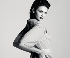 black and white, fashion, and vogue image