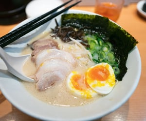 japanese food, asian food, and ramen noodles image