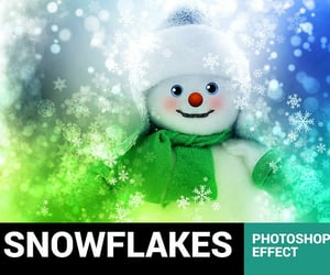 Action, santa, and snowflakes image