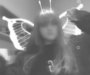 angel, b&w, and edit image